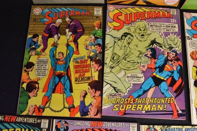 (14) Superman DC Comics Silver & Bronze Age - 4
