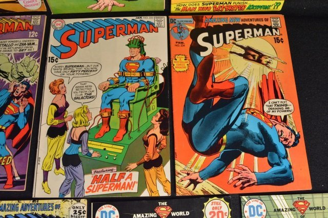 (14) Superman DC Comics Silver & Bronze Age - 5