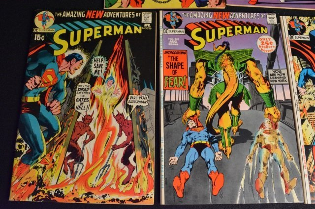 (14) Superman DC Comics Silver & Bronze Age - 6