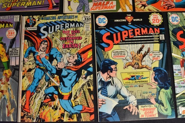 (14) Superman DC Comics Silver & Bronze Age - 7
