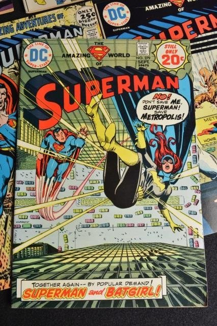 (14) Superman DC Comics Silver & Bronze Age - 8