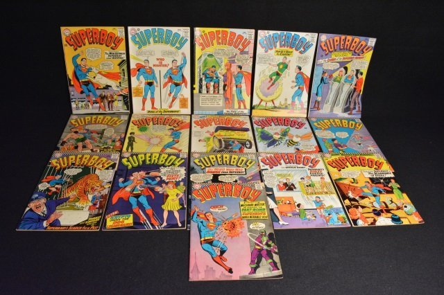 (16) SuperBoy DC Comics Silver Age