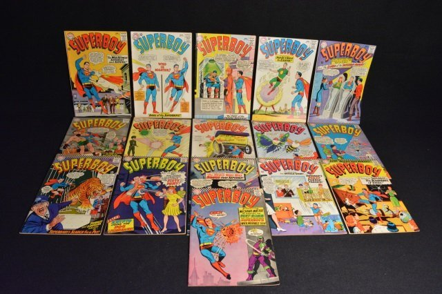 (16) SuperBoy DC Comics Silver Age - 2