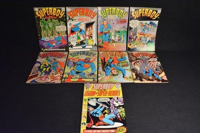 (9) SuperBoy DC Comics Silver Age & Bronze Age
