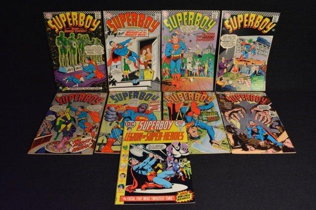 (9) SuperBoy DC Comics Silver Age & Bronze Age - 2