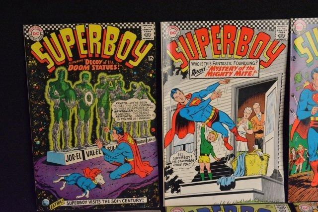 (9) SuperBoy DC Comics Silver Age & Bronze Age - 3
