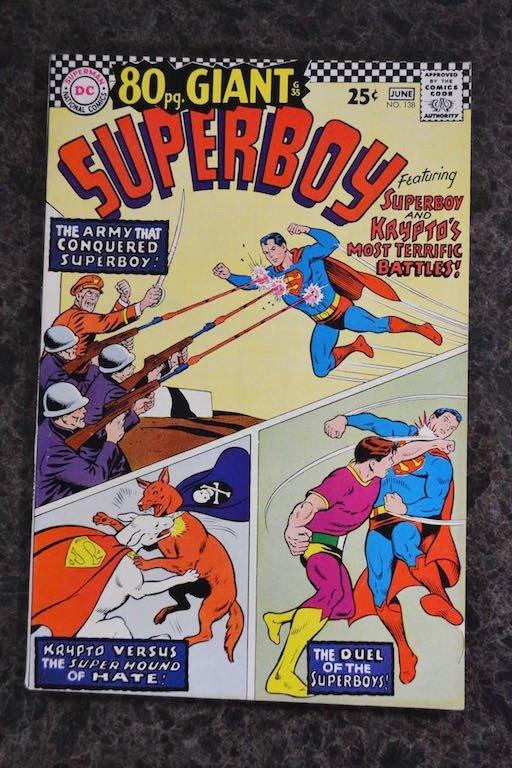 (9) SuperBoy DC Comics Silver Age & Bronze Age - 5