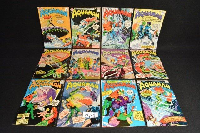 (12) Aquaman DC Comics Silver Age - 2