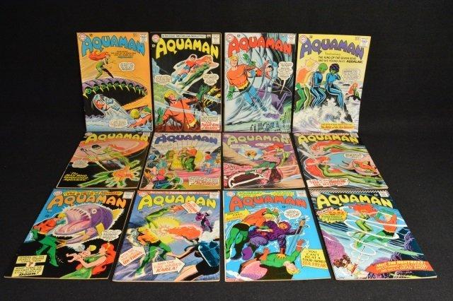 (12) Aquaman DC Comics Silver Age - 3