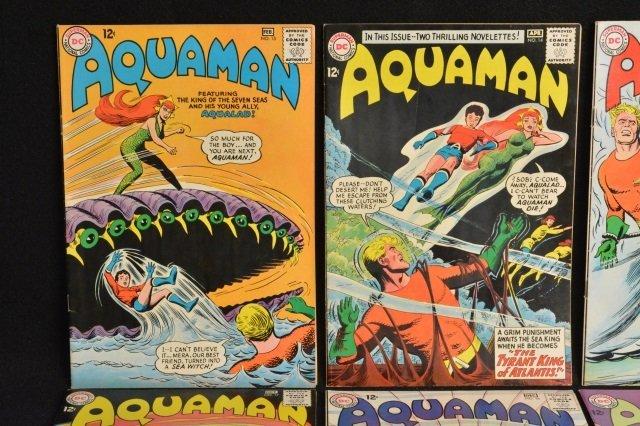 (12) Aquaman DC Comics Silver Age - 4