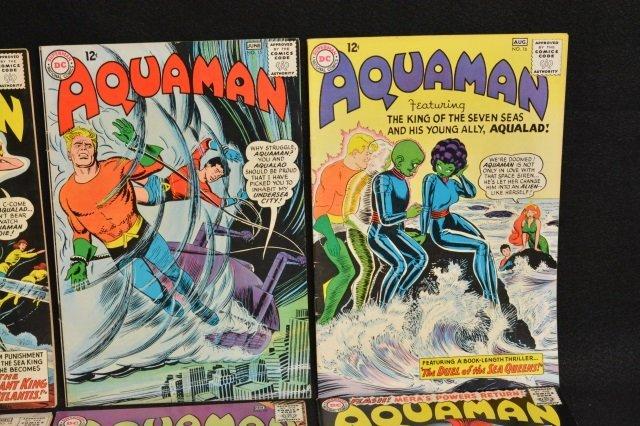 (12) Aquaman DC Comics Silver Age - 5