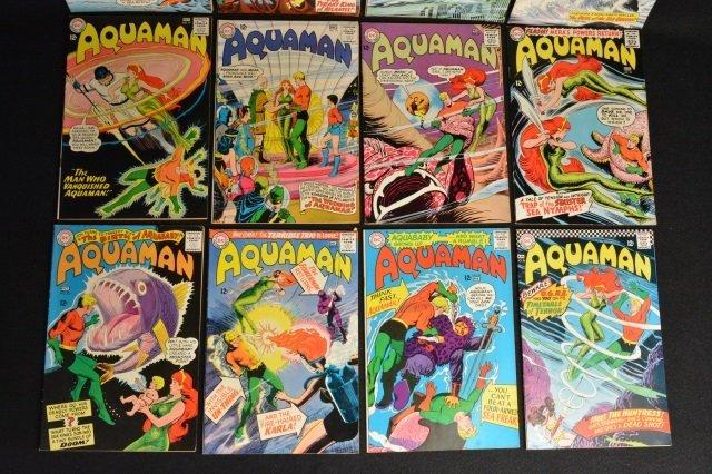 (12) Aquaman DC Comics Silver Age - 6
