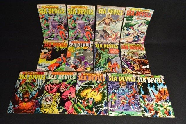 (13) Sea Devils DC Comics Silver Age