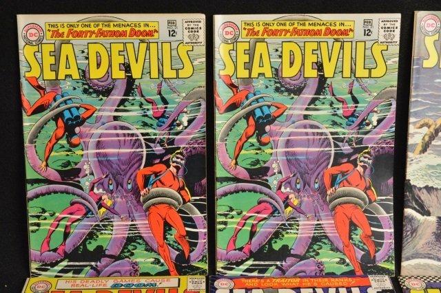 (13) Sea Devils DC Comics Silver Age - 2