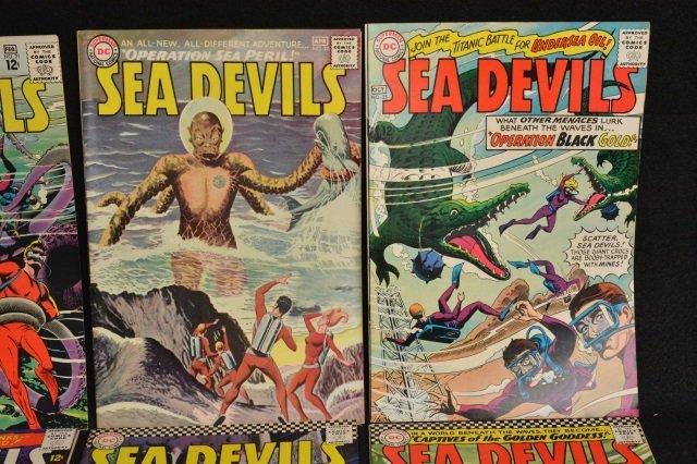 (13) Sea Devils DC Comics Silver Age - 3