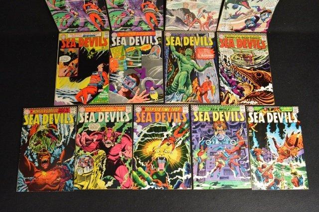 (13) Sea Devils DC Comics Silver Age - 4