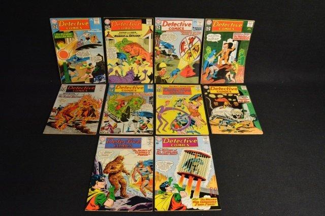 (10) Detective Comics, D.C. Comics Silver Age