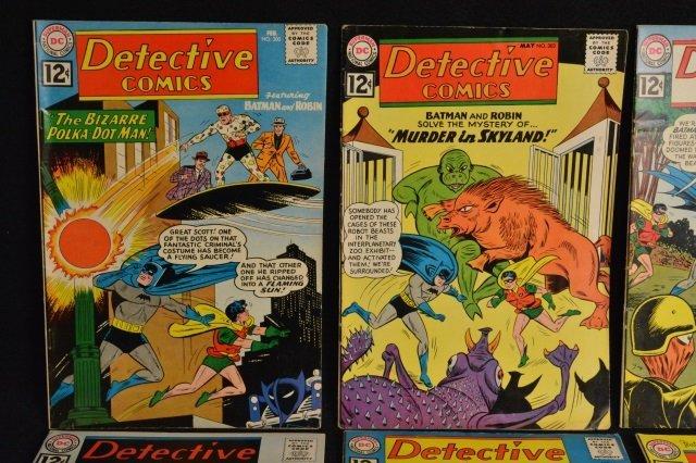 (10) Detective Comics, D.C. Comics Silver Age - 2