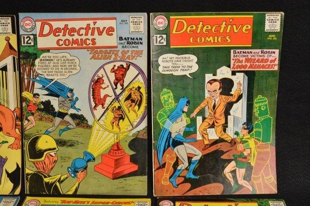 (10) Detective Comics, D.C. Comics Silver Age - 3