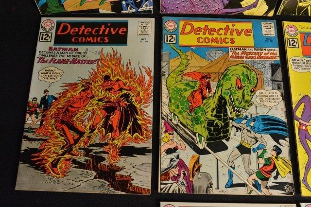 (10) Detective Comics, D.C. Comics Silver Age - 4
