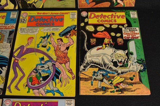 (10) Detective Comics, D.C. Comics Silver Age - 5