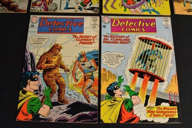 (10) Detective Comics, D.C. Comics Silver Age - 6