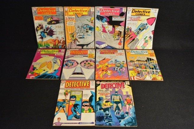(10) Detective Comics, DC Comics Silver Age