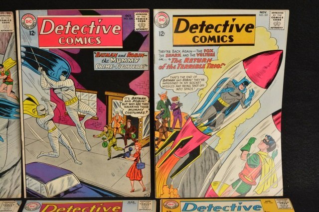 (10) Detective Comics, DC Comics Silver Age - 3