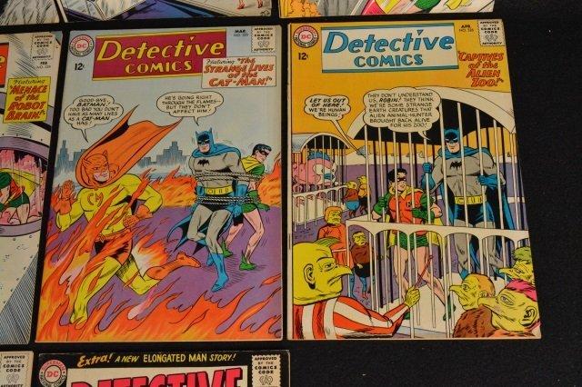 (10) Detective Comics, DC Comics Silver Age - 5