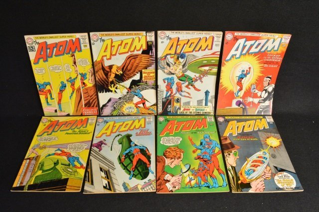 (8) The Atom, DC Comics Silver Age