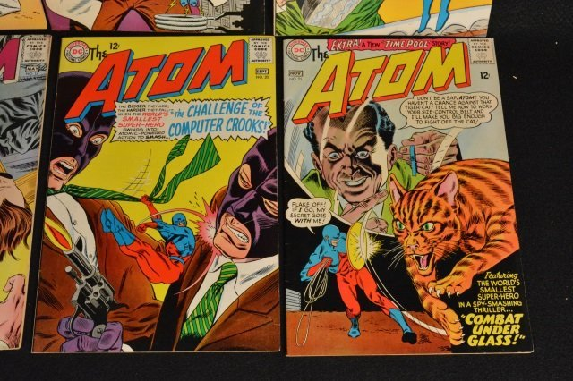 (8) The Atom, DC Comics Silver Age - 5