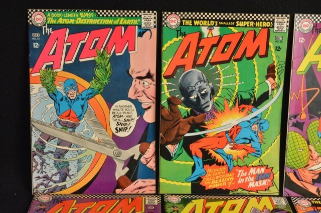 (10) The Atom, DC Comics Silver Age - 2