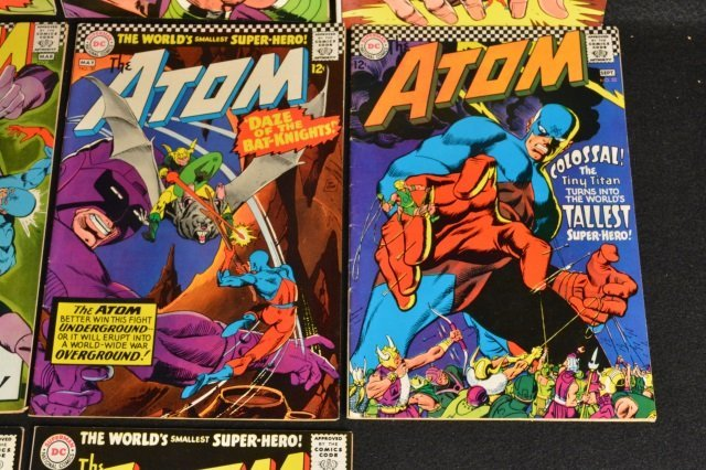 (10) The Atom, DC Comics Silver Age - 5