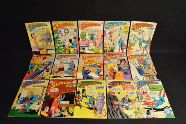 (15) Superman, DC Comics Silver Age
