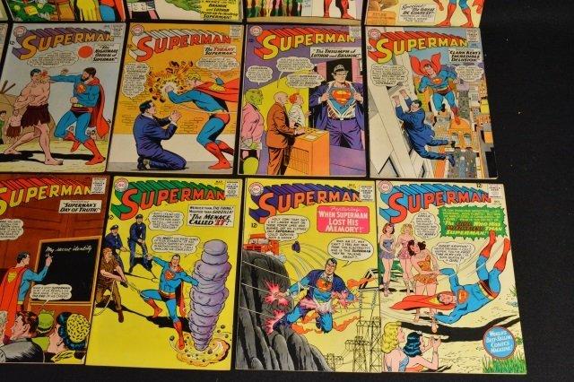 (15) Superman, DC Comics Silver Age - 2