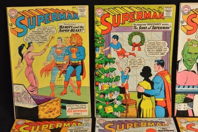 (15) Superman, DC Comics Silver Age - 3