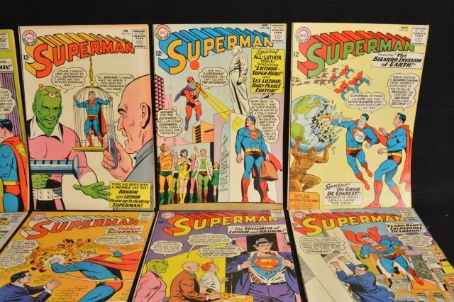 (15) Superman, DC Comics Silver Age - 4