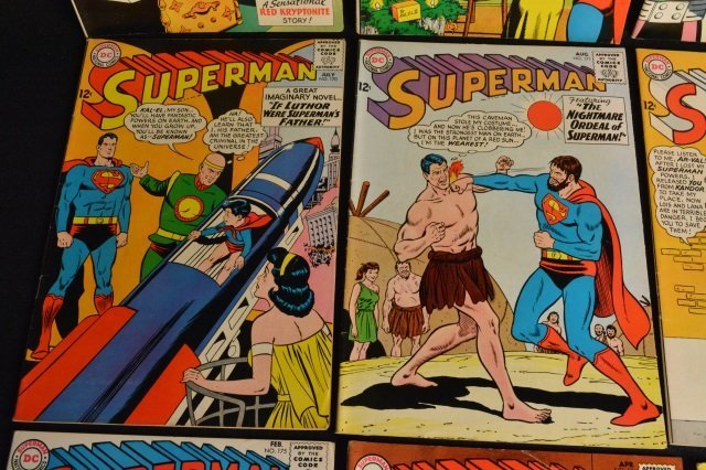 (15) Superman, DC Comics Silver Age - 5