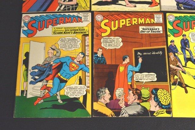 (15) Superman, DC Comics Silver Age - 6