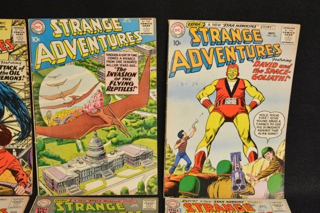 (12) Strange Adventures, DC Comics Silver Age - 3