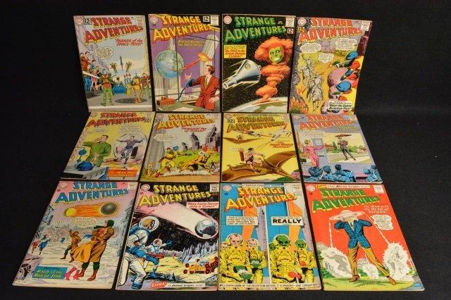 (12) Strange Adventures, DC Comics Silver Age