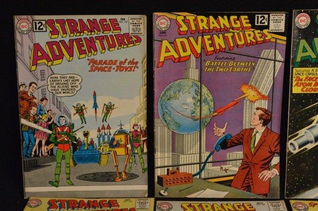 (12) Strange Adventures, DC Comics Silver Age - 2
