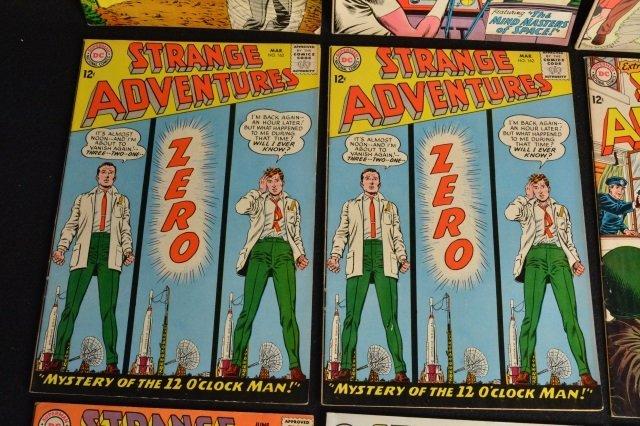 (12) Strange Adventures, DC Comics Silver Age - 4