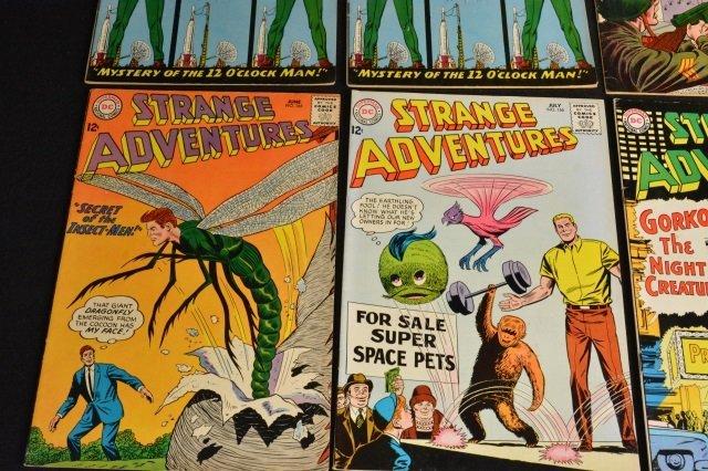 (12) Strange Adventures, DC Comics Silver Age - 5