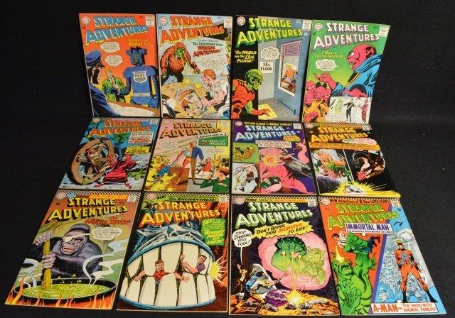(12) Strange Adventures,DC Comics Silver Age
