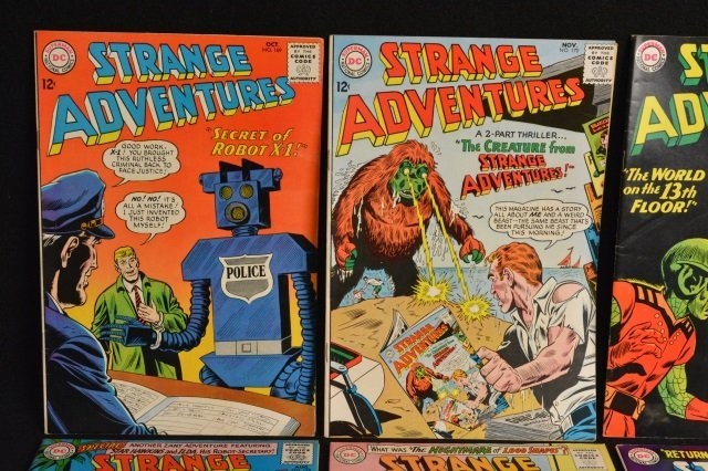 (12) Strange Adventures,DC Comics Silver Age - 2