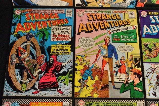 (12) Strange Adventures,DC Comics Silver Age - 4