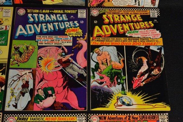 (12) Strange Adventures,DC Comics Silver Age - 5
