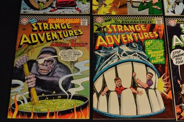 (12) Strange Adventures,DC Comics Silver Age - 6