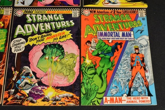 (12) Strange Adventures,DC Comics Silver Age - 7